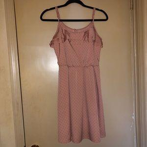 LC Lauren Conrad Light Pink Studded Dress Size 2